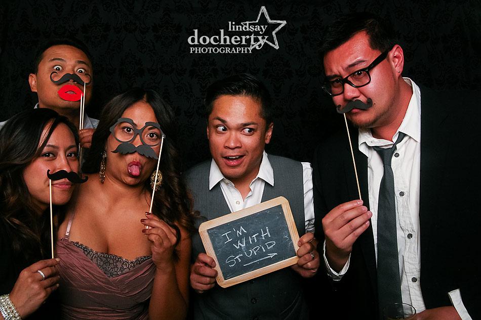 Lindsay Docherty Photography Oh, snap! Photo studio at wedding