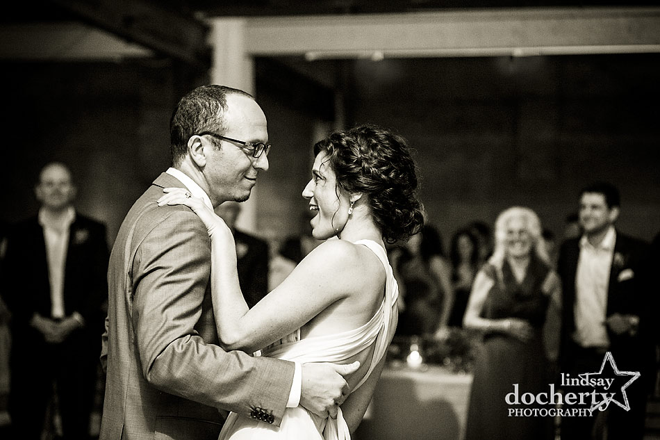 First dance at Philadelphia wedding Front & Palmer