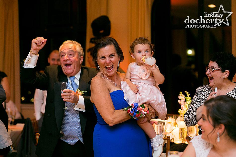 parents of the bride at Aldie Mansion wedding in Doylestown