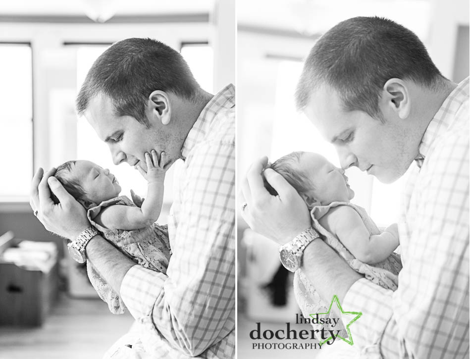 babby and little girl newborn baby shoot