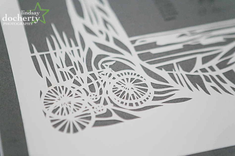 papercut ketubah design for Jewish wedding