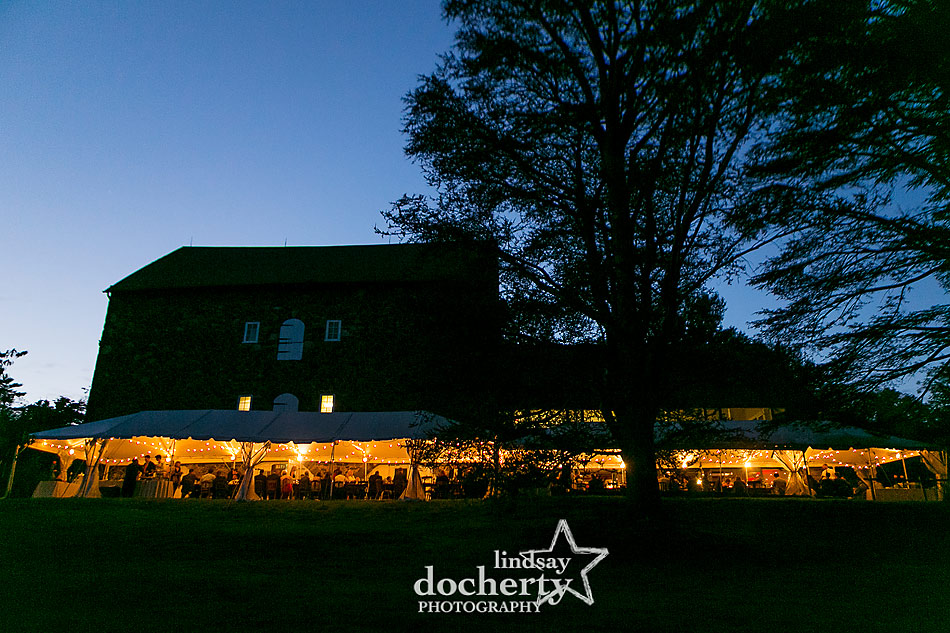 Tyler-Arboretum-wedding-at-night-in-the-fall