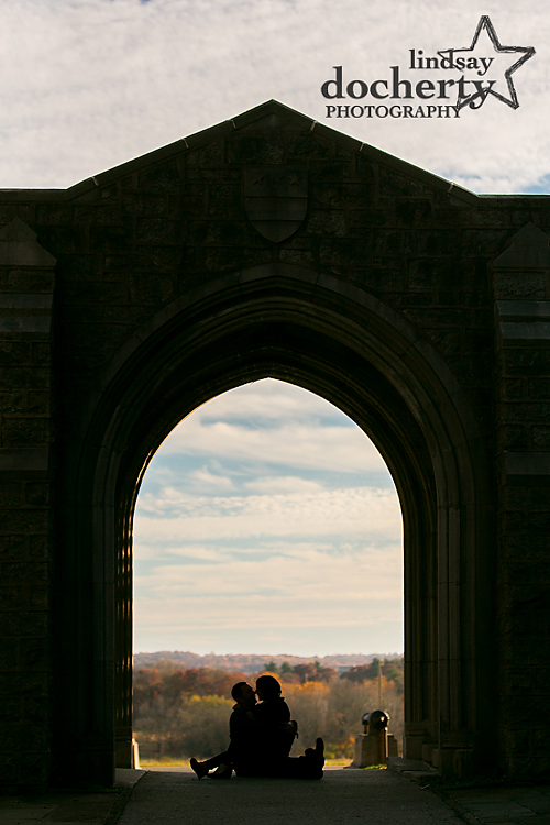 Press for Lindsay Docherty Photography engagement session at Valley Forge Park