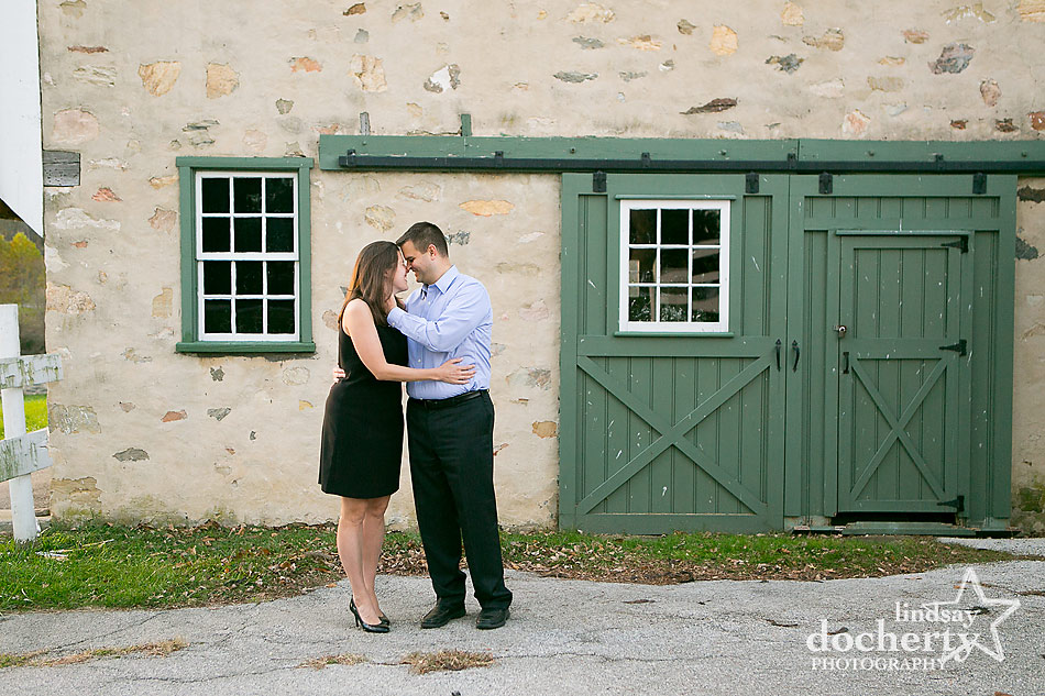 engagement session pictures at Valley Forge Park outside of Philadelphia