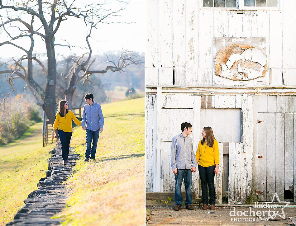 Brandywine-State-park-engagement-session-in-the-fall