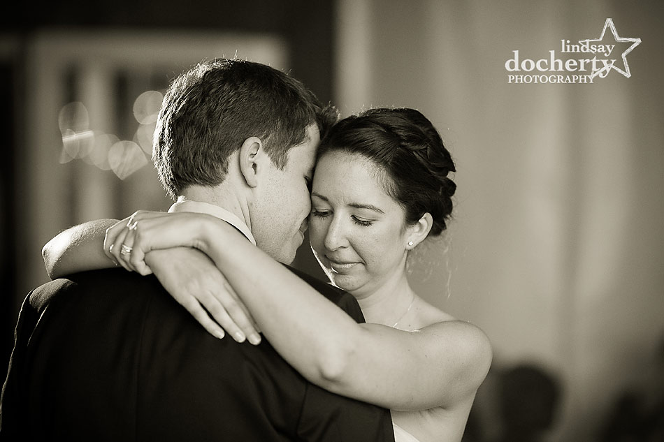 bride-and-groom-first-dance-at-fall-Valley-Green-Inn-wedding-in-Philadelphia