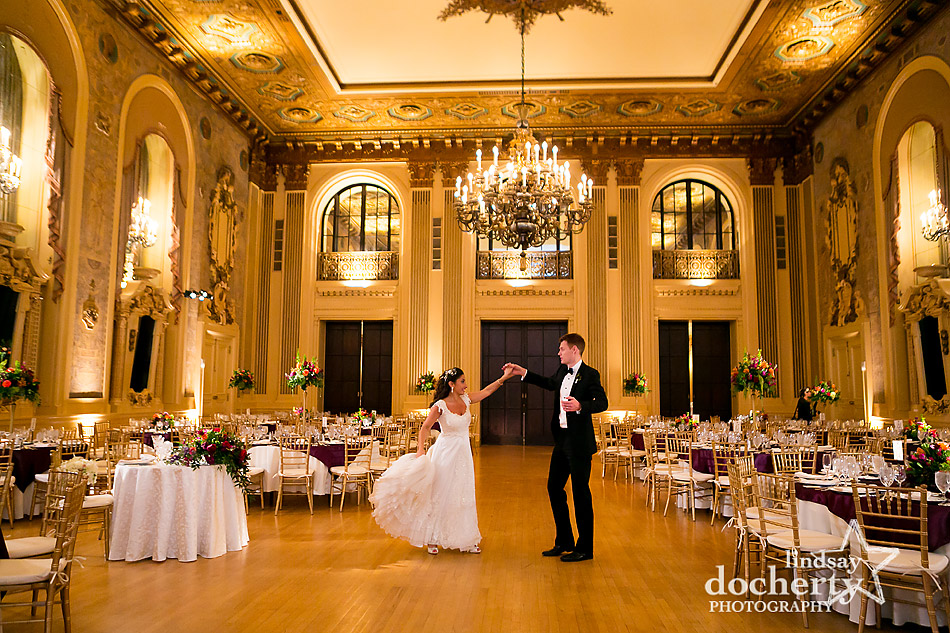 bride-and-groom-practicing-first-dance-i-ngold-ballroom-at-hotel-dupont