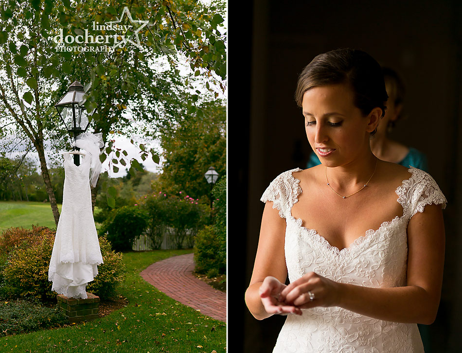 Bride Wedding Dress At Chatham Bars Inn