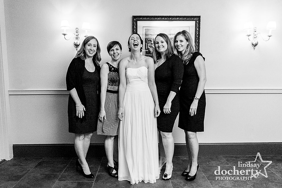 bride-with-friends-at-fall-Valley-Green-Inn-wedding-in-Philadelphia