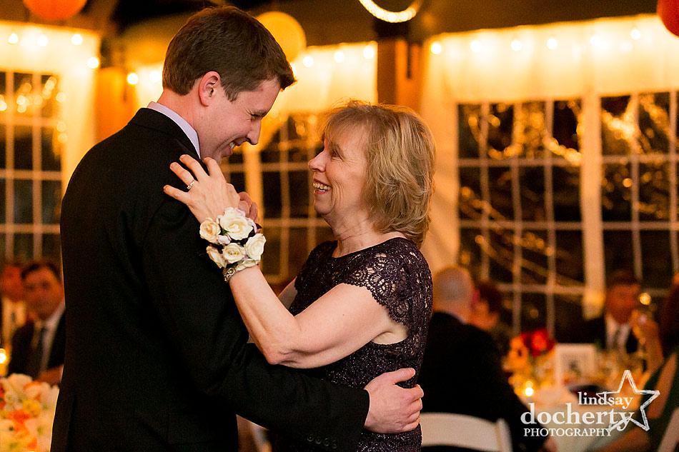 groom-and-mother-dance-at-fall-Valley-Green-Inn-wedding-in-Philadelphia