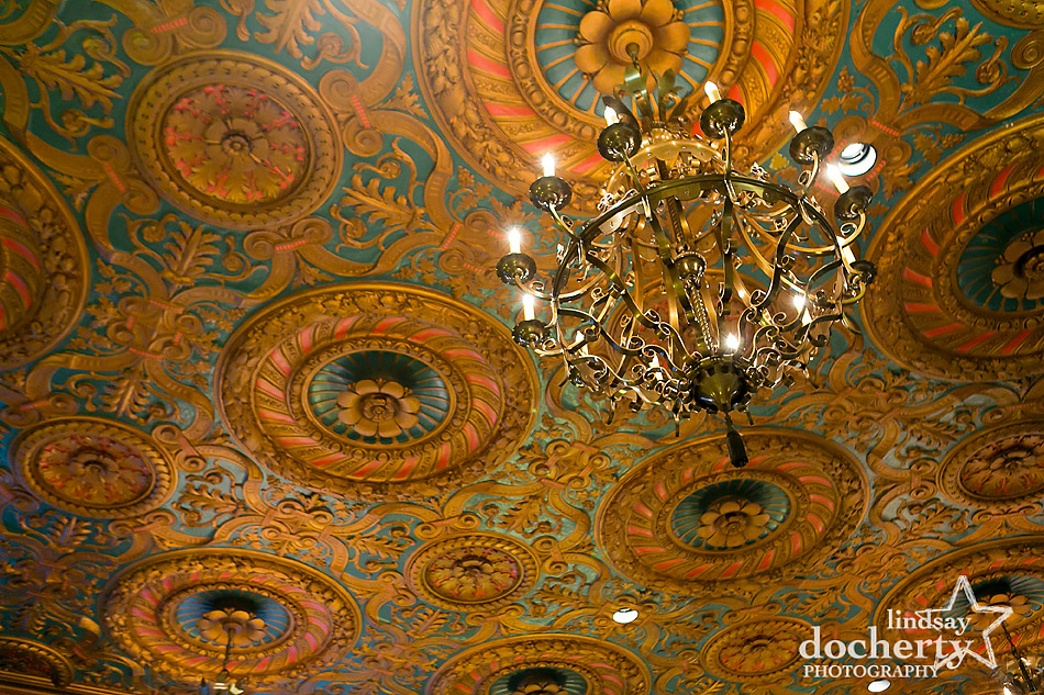 hotel-dupont-wedding-reception-chandelier-ceiling