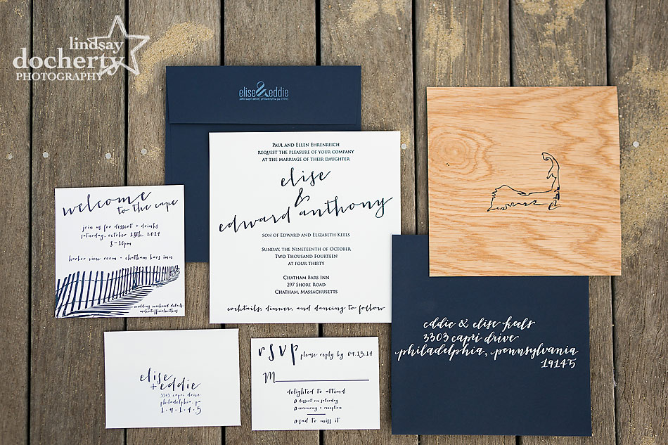 letterpress-wood-invitation-at-Chatham-Bars-Inn-wedding-on-Cape-Cod