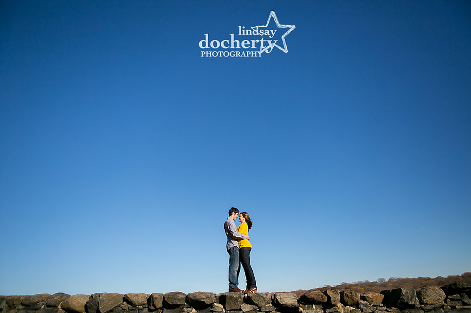 sky-and-stone-wall-engagement-picture-at-Brandywine-State-Park-in-Delaware
