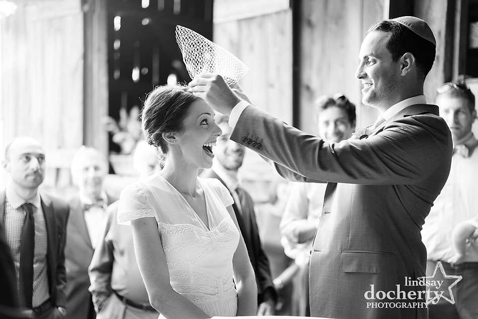 Jewish-veiling-ceremony-with-bride-and-groom