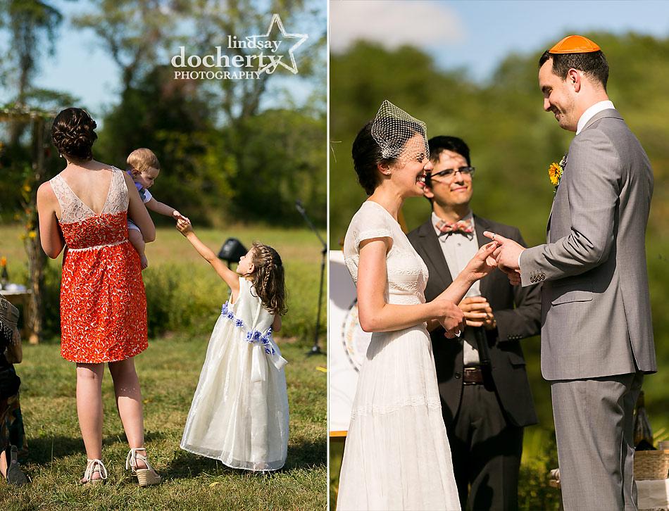 Jewish-wedding-ceremony-in-Bucks-County