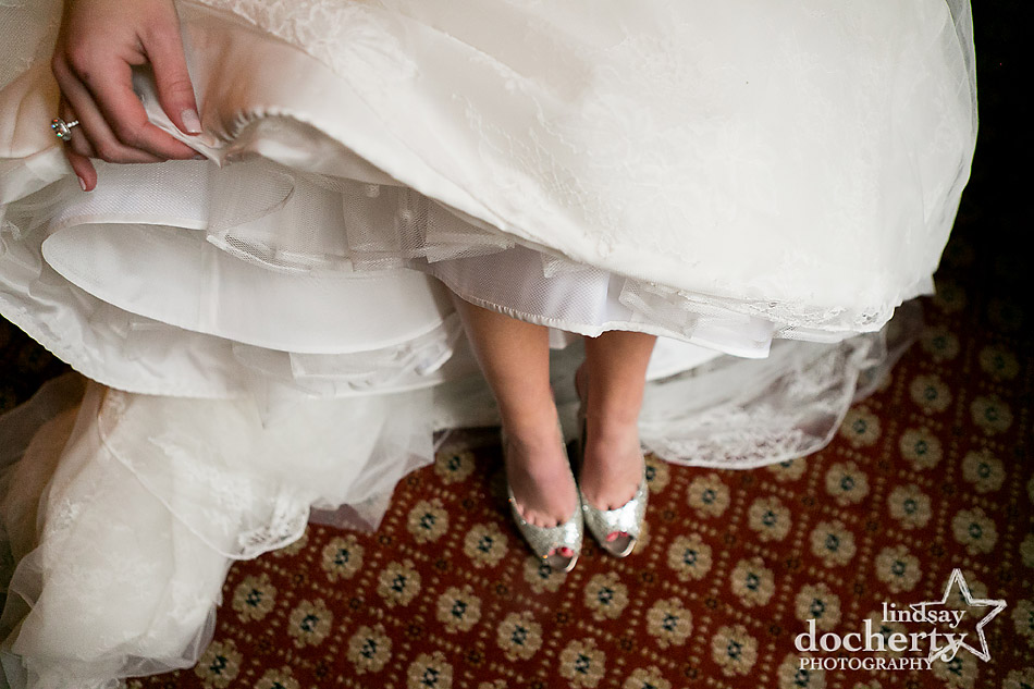Jimmy-Choo-shoes-for-bride-on-wedding-day