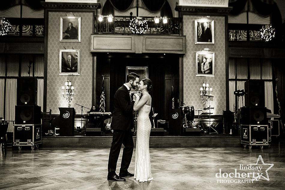 bride-and-groom-alone-on-dancefloor-at-Union-League-wedding-in-Philadelphia