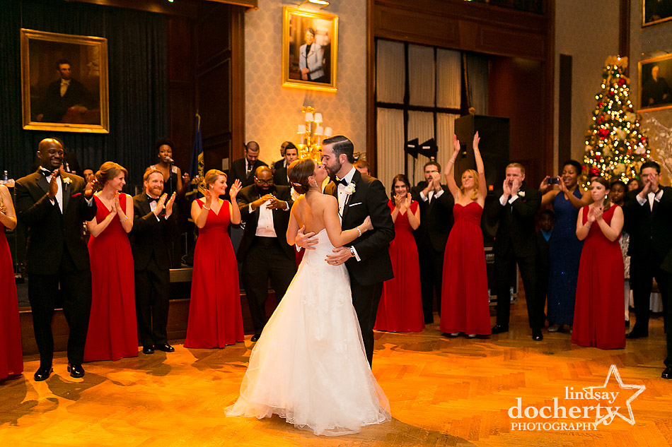 bride-and-groom-reception-introductions-at-Union-League