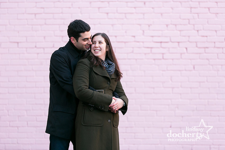 cuddling-at-Old-City-engagement-session-in-Philadelphia