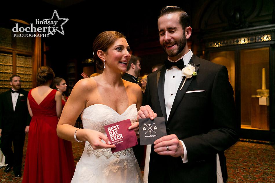 custom-cocktail-napkins-for-wedding-at-Union-League