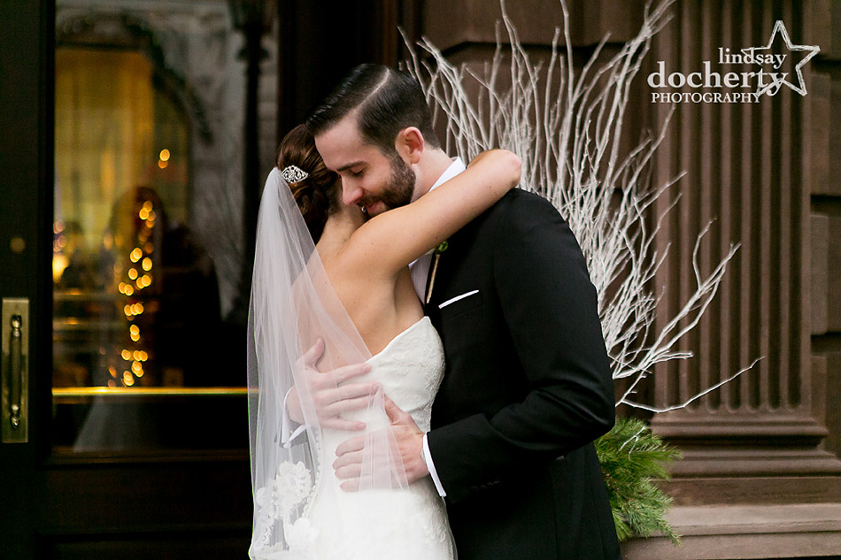 first-look-with-bride-and-groom-at-Union-League-Philadelphia-wedding