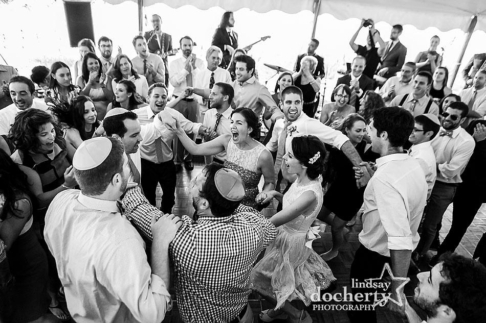 hora-at-Jewish-wedding-reception