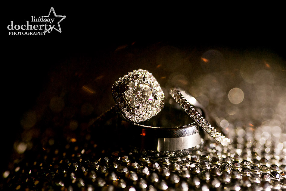 sparkly-diamond-engagement-and-wedding-bands-at-Union-League-wedding-in-Philadelphia