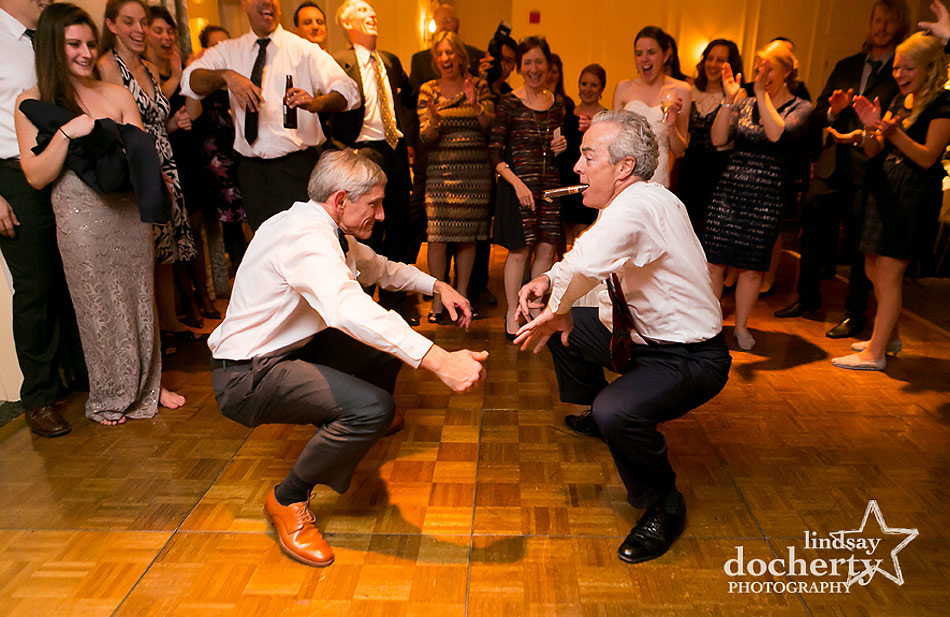 men-dancing-at-Main-Line-wedding-at-Peoples-Light-and-Theater