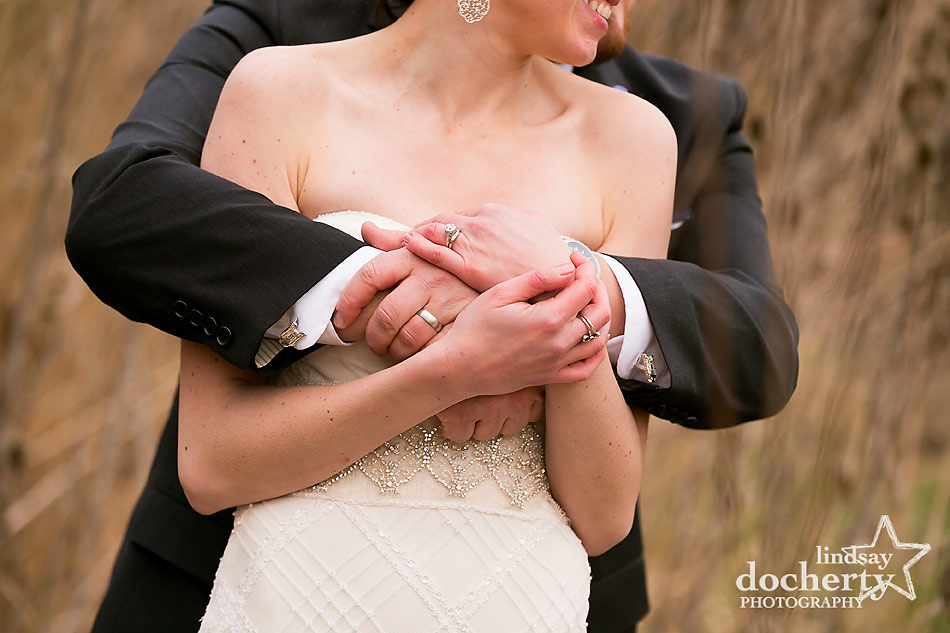 winter-wedding-couple--at-Main-Line-wedding-at-Peoples-Light-and-Theater