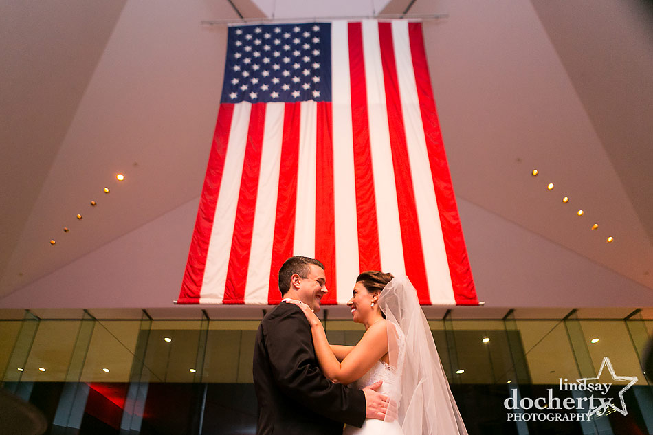 first-dance-at-National-Constitution-Center-wedding-in-Philadelphia