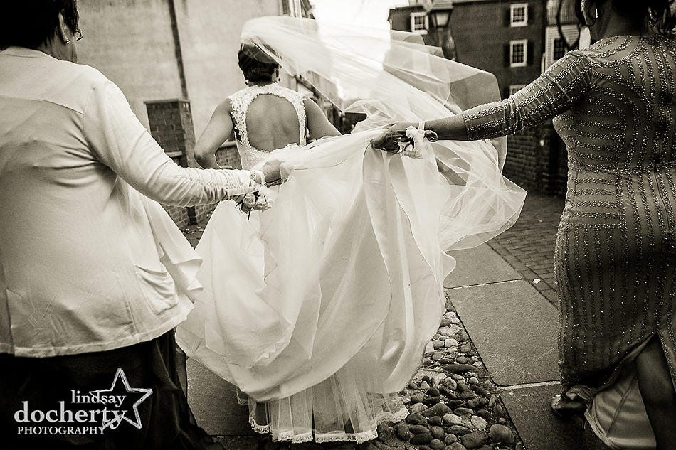 layers-of-wedding-dress-and-mothers