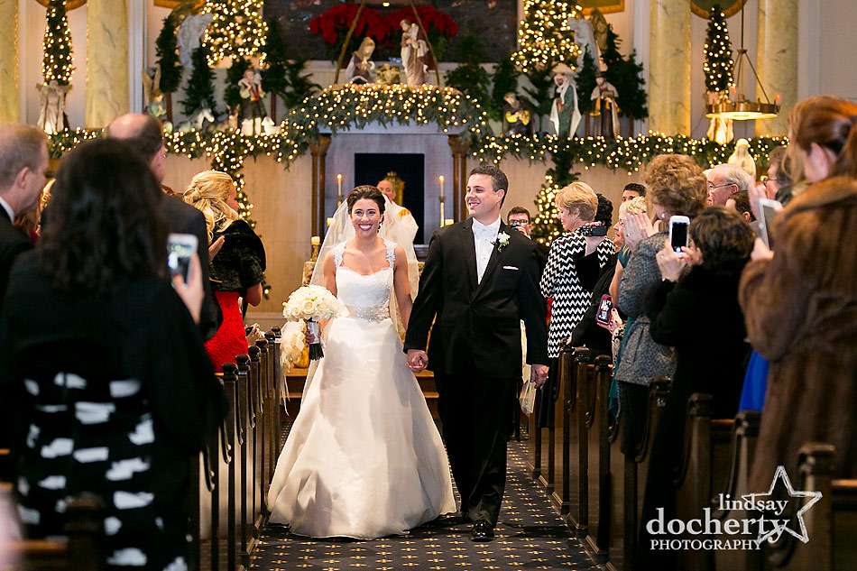 Philadelphia wedding photographer national constitution center wedding recessional at old st marys junglespirit Gallery