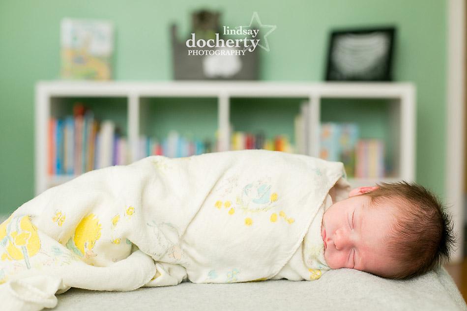 sleeping baby boy at home in Philadelphia
