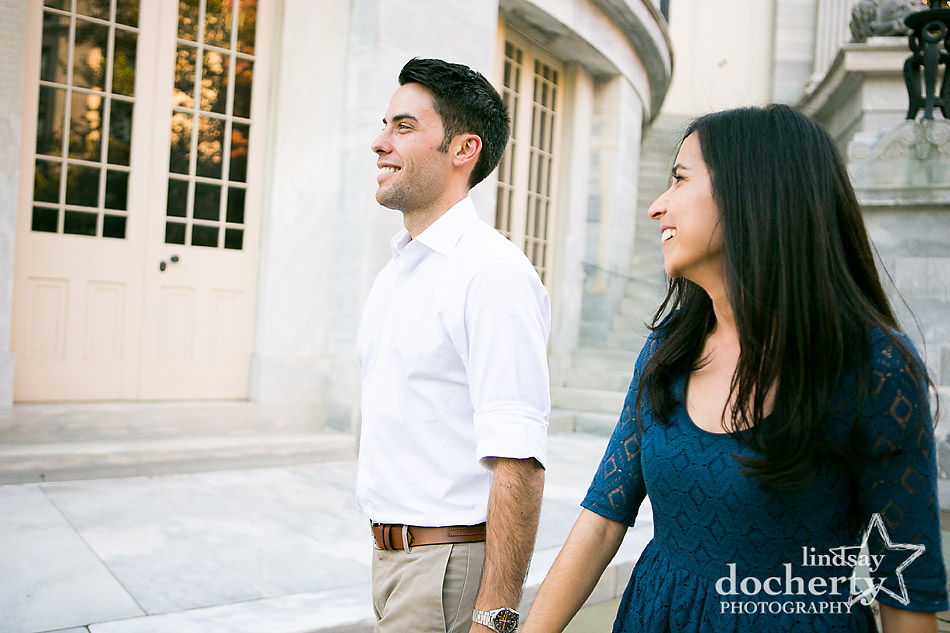 candid-old-city-philadelphia-engagement-photo