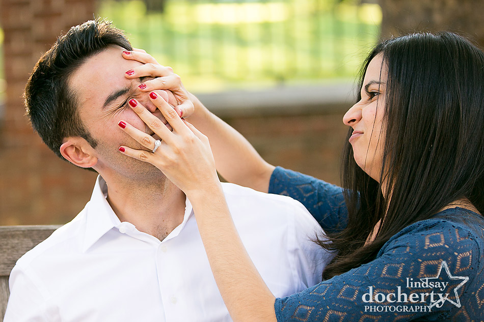 funny-picture-of-couple-for-philadelphia-engagement-session