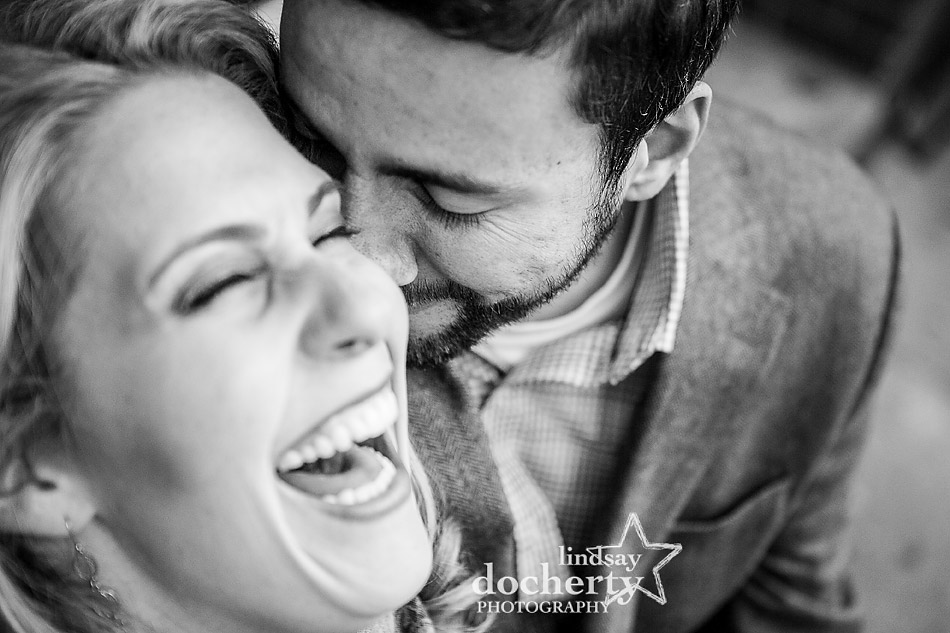 couple-laughing-closeup-black-and-white-engagement-picture