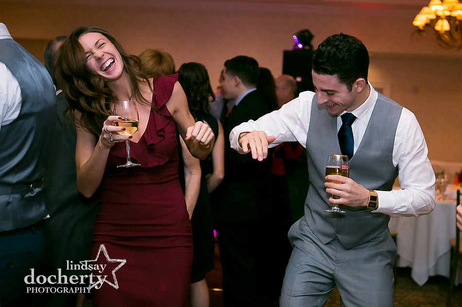 couple dancing at Llanerch Countryu Club wedding