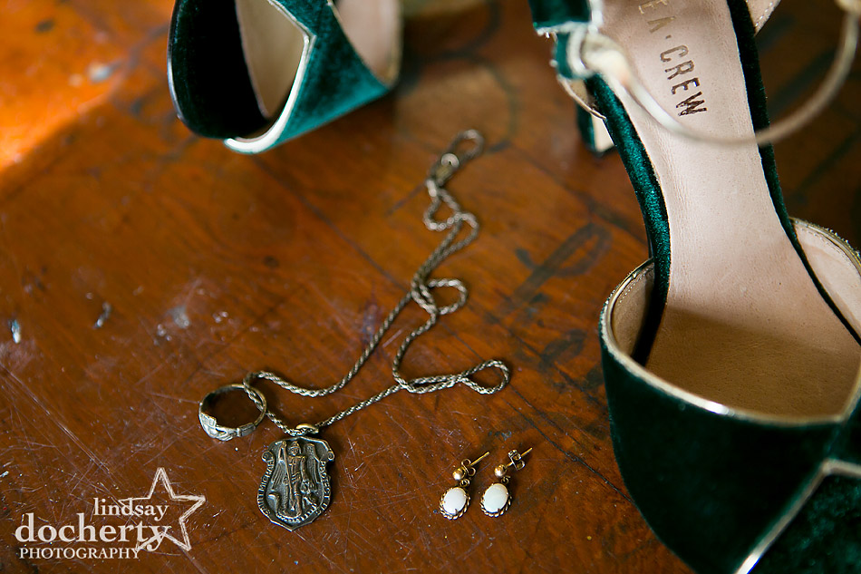 green-velvet-wedding-shoes-and-late-fathers-heirlooms