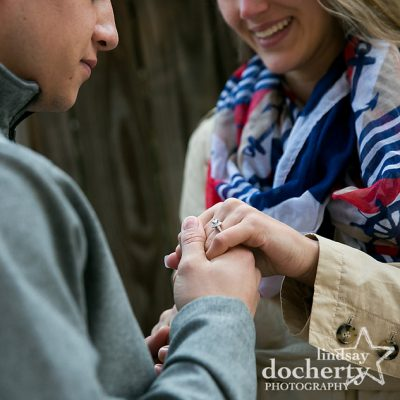 proposal photography in Philadelphia with engagement ring
