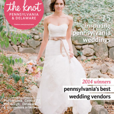 Lindsay Docherty Photography in The Knot magazine