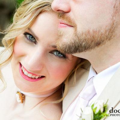 Philadelphia Morris House Hotel wedding bride and groom