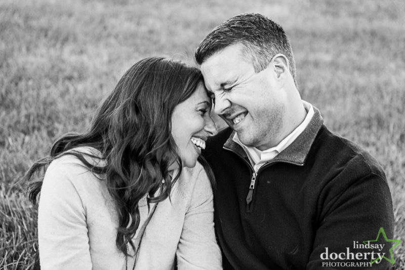 engagement photo session in Conshohocken PA