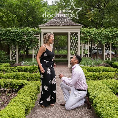 reaction from wedding proposal in Philadelphia